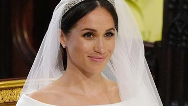 Meghan Markle's wedding tiara is an heirloom piece and so stunning