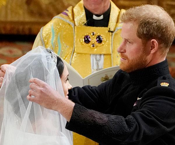 """Prince Harry told Meghan she looked """"amazing"""" and that he'd missed her after spending their final night before their wedding apart."""