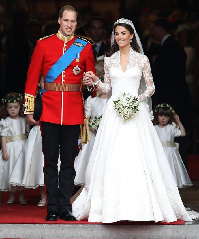 We will never forget Kate's stunning wedding dress!