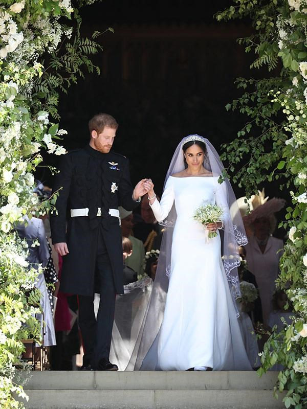 Harry and Meghan recently celebrated their one year anniversary. *(Image: Getty)*