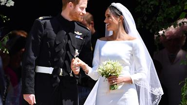 Prince Harry and Meghan Markle's wedding outfits will soon be on display at Windsor Castle