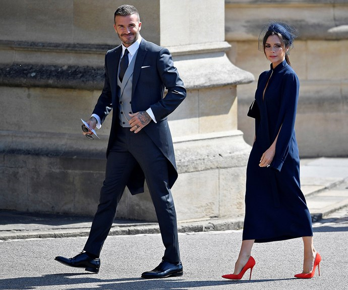 David and Victoria Beckham both said the wedding evoked a strong sense of patriotism.