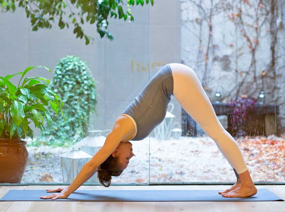 Even low-intensity exercise like yoga can have mood-boosting benefits. *(Image: Getty)*
