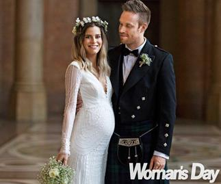 The Block NZ's Yanita McLeay shares her romantic Scottish themed wedding