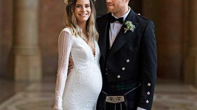The Block NZ's Yanita McLeay shares her romantic Scottish themed wedding