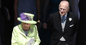 What a trooper! Prince Philip was battling a painful secret injury at the royal wedding