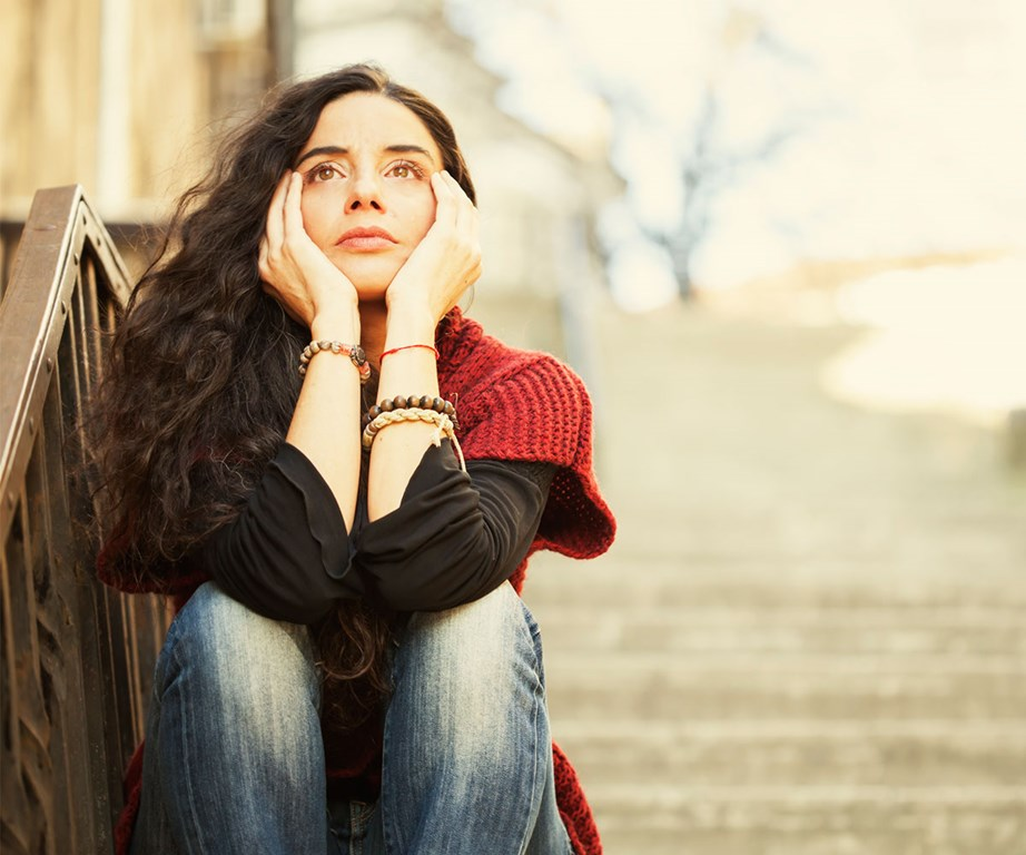 Anxiety can be a useful tool to tell you when you need to take action or protect yourself, but if you're stressed or anxious all the time it can take a serious toll on your mental and physical health. *(Image: Getty)*