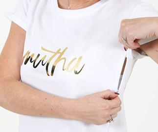 Breastfeeding tees with secret zips are here and mums are loving them