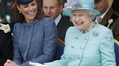 12 times Queen Elizabeth and Kate Middleton proved they're the best of chums