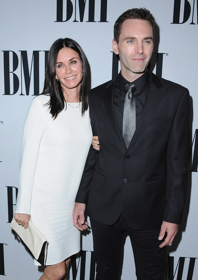 Courteney and Johnny McDaid will be wed in a few months.