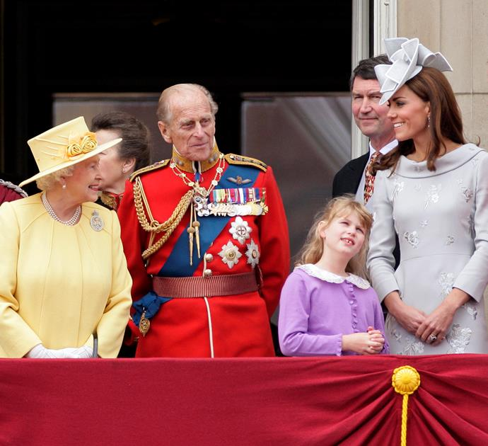 Kudos to Prince Philip for trying to be polite while two of his favourite ladies have their bonding moment!