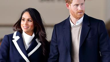 Prince Harry and Meghan Markle are back from their honeymoon and straight back to work
