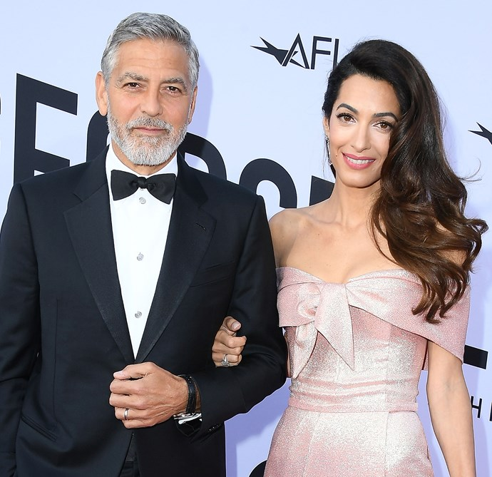 George and Amal looked picture perfect on the red carpet.