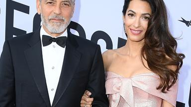 Amal Clooney makes the sweetest speech about husband George Clooney and it brings him to tears