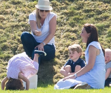 Princess Charlotte does a headstand - just when we thought she couldn't get any cuter
