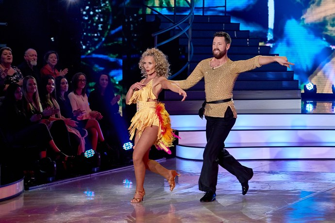 Suzy and Matt danced for their lives in last night's dance-off with Shavaughn and Enrique, but  the judges felt that Shav had brought more energy to her dance-off performance.