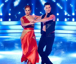 Sam Hayes Aaron Gilmore Dancing With The Stars Paso Doble