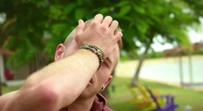 Joshua's big mood over Gennady.