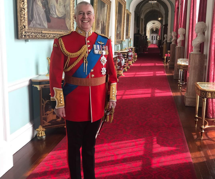 Princess Eugenie's Instagram snap of her dad reveals something juicy about Buckingham Palace