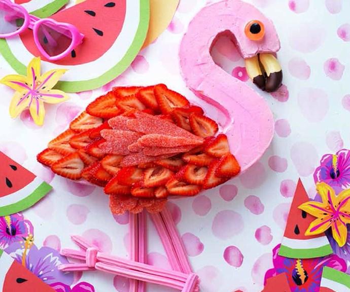 Anna Polyviou's Flamenco Flamingo cake