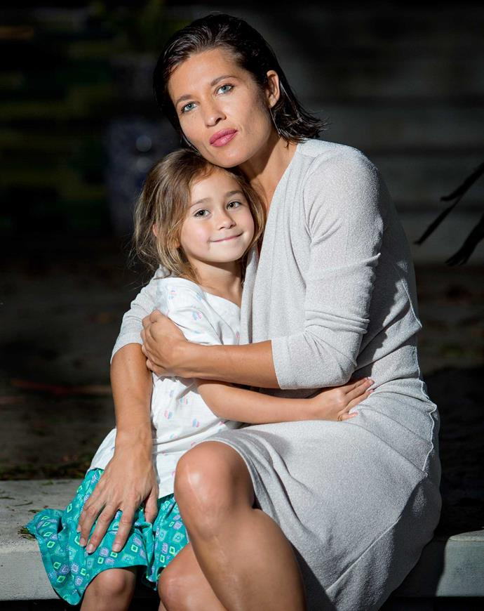 Chelsea and her daughter Te Hinekaahu, aged 5