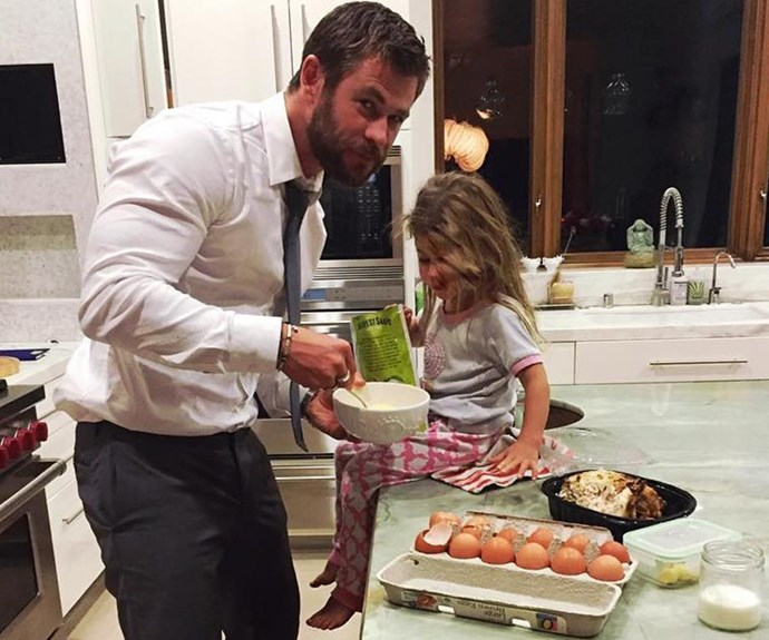 Celebrities who love cooking with their kids