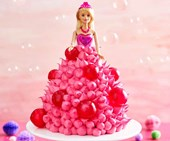 How to make The Australian Women's Weekly Barbie bubble cake