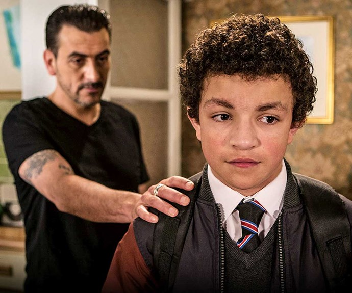Teenage Coro St star Alex Bain finds out he's going to be a dad in real life
