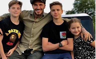 David Beckham opens up about what he loves about being a dad and our hearts melt
