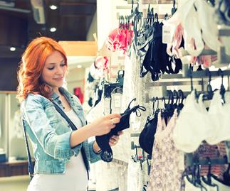 How to find the right bra for your breast size and shape