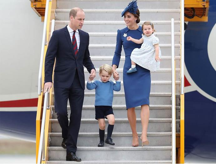 Last year the Cambridges toured Canada, this time with their two kids in tow.