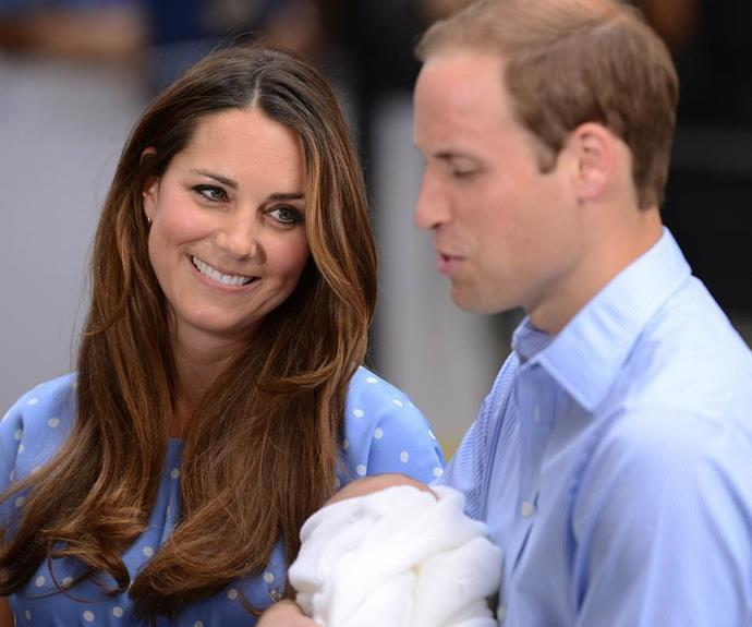 He was given the name Prince George Alexander Louis of Cambridge.