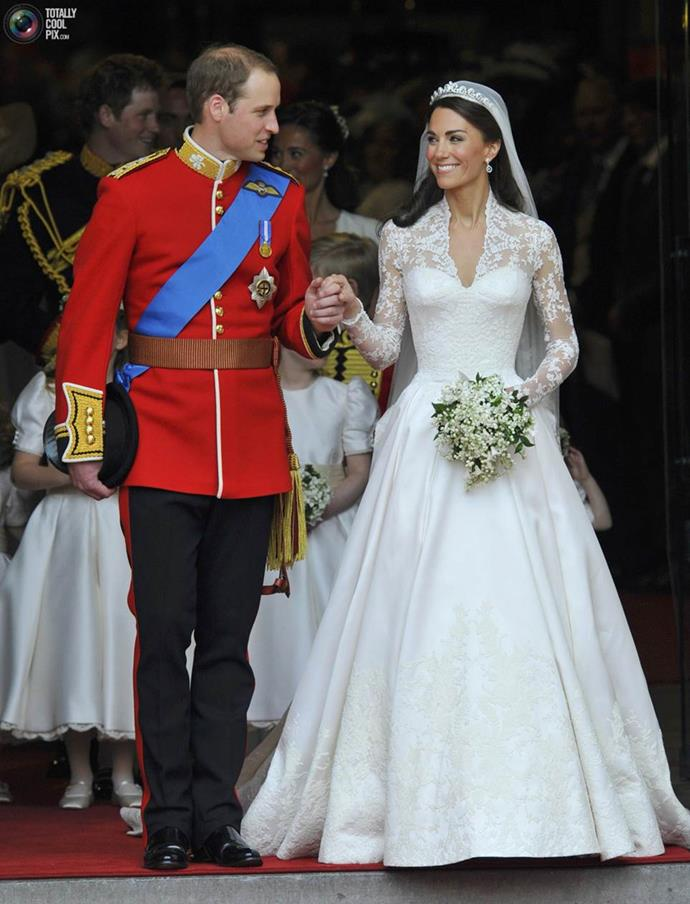 They were married at Westminster Abbey in 2011, in a fairy-tale ceremony where they were granted the title Duke and Duchess of Cambridge.