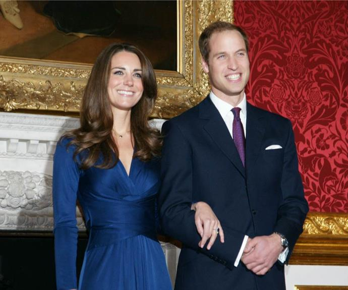 Prince William announced his engagement to his long-term girlfriend, Kate, in 2010.