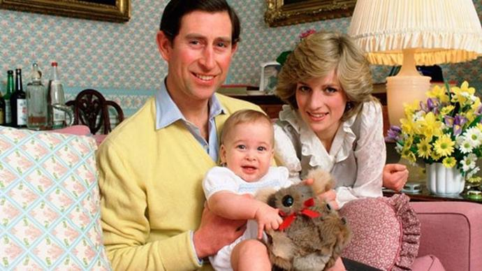 Along with his father, Prince Charles, and mother, Princess Diana, William lived an idyllic life in England.