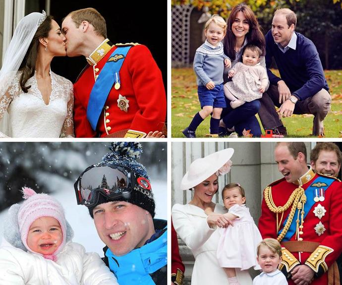 William may be a beloved Prince, but it is his role as a family man that has won over the world.