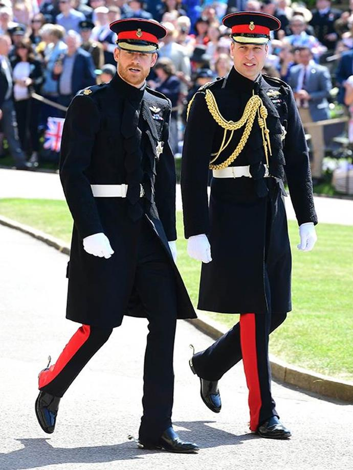 Prince William was the ultimate best man at Prince Harry's wedding in May.
