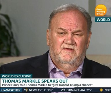 Meghan Markle and Prince Harry were reportedly blindsided by Thomas Markle's tell-all interview