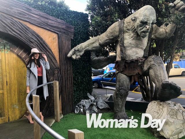 Tracey visits Wellington's Weta Workshop this week.