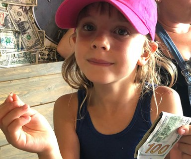 You won't believe how much money Pink's daughter got from the tooth fairy!