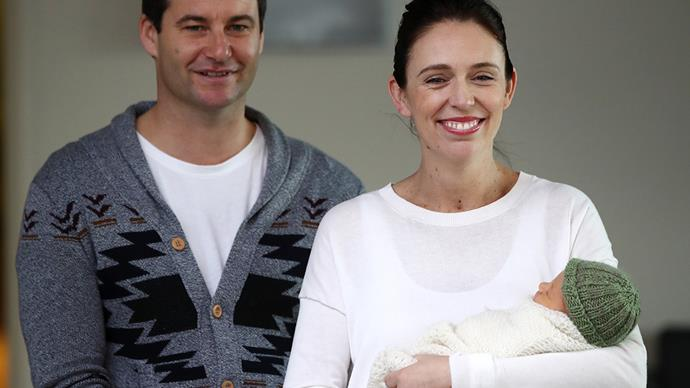 Jacinda Ardern and Clarke Gayford introduce their beautiful baby girl to 'the village' - and we have a name!