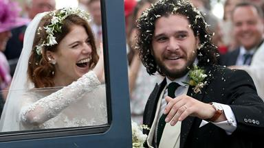 Game of Thrones stars Kit Harington and Rose Leslie got married and the wedding was so down to earth
