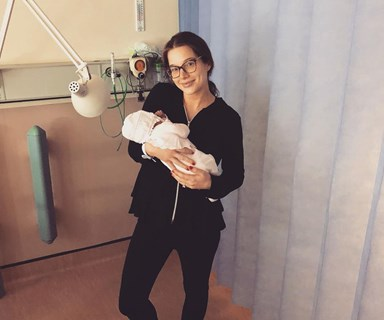 Coro Street star Helen Flanagan gives birth to her second baby girl - and she looks absolutely smitten!