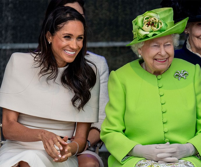 The Queen will be sharing one of her royal duties with Meghan Markle