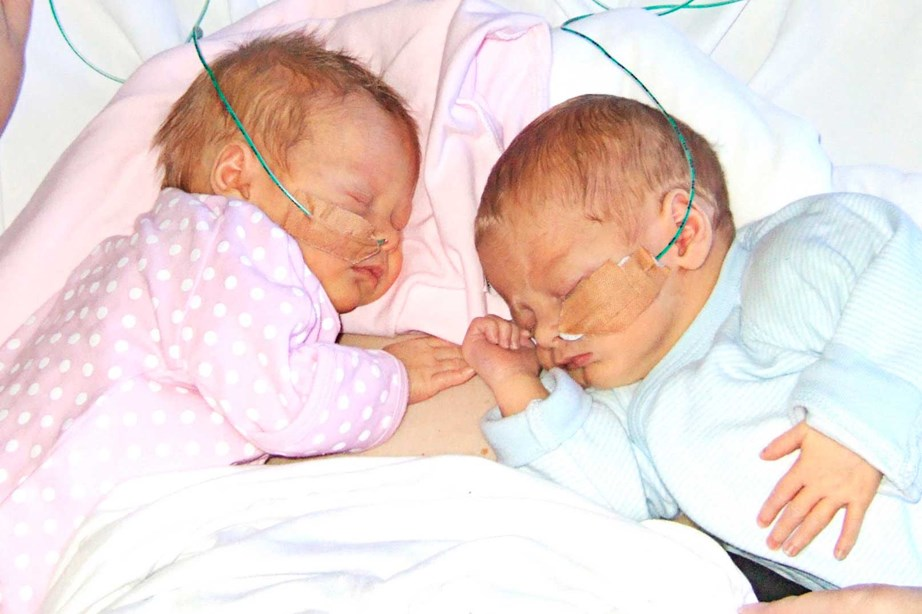 Twins Phoebe and Louie were born eight weeks' premature. Phoebe was starved of oxygen at birth and, as a consequence, has a form of cerebral palsy called hemiplegia. Chris credits Conductive Education - the health charity he raised funds for in *Dancing With The Stars* - for helping her overcome much of her disability.