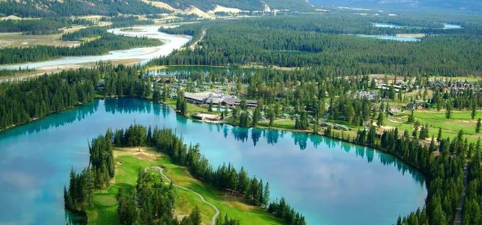It was a 'No Reservation' from Jasper Park Lodge in Canada!