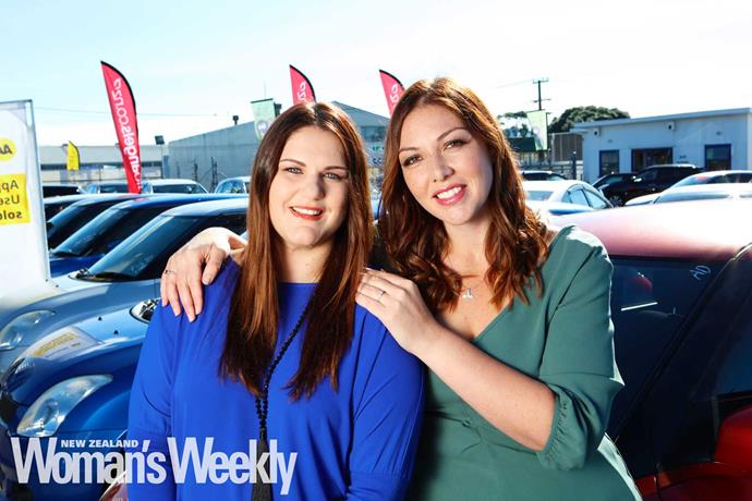 "Hannah and Sarah launched their own car yard, [Auto Angels](https://www.autoangels.co.nz/|target=""_blank""