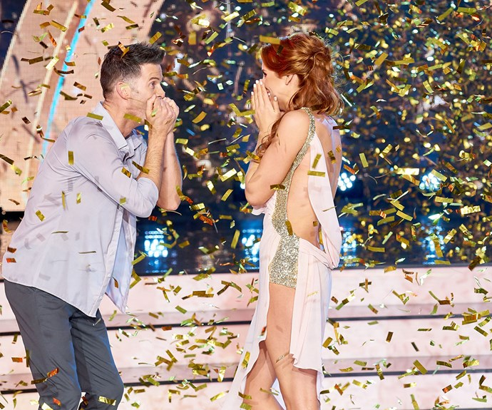 Win Dancing With The Stars, tick - now it's back to the day job for Sam Hayes