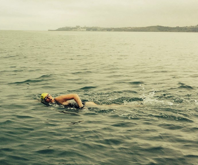 Jessica Hepburn on her epic Channel swim.
