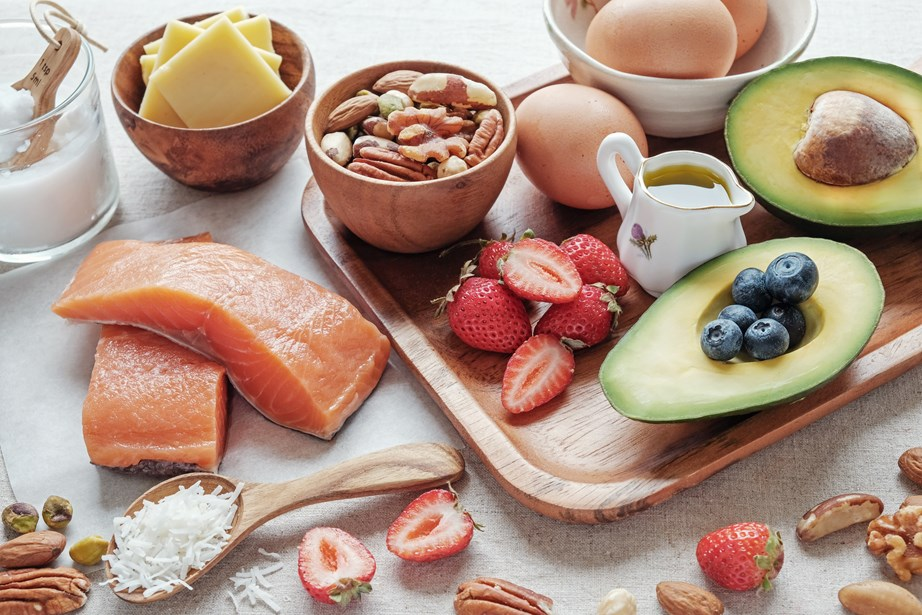 On the keto diet, all grains, starchy vegetables, fruit, dairy and processed foods are off the cards. *(Image: Getty)*